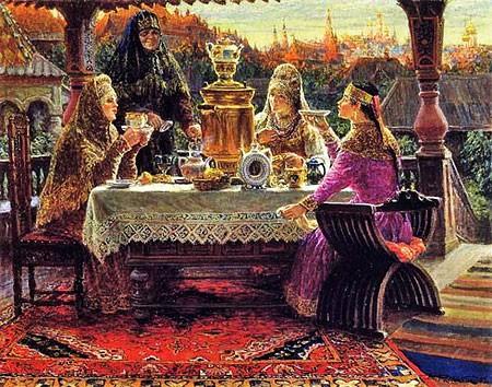 Исторя появления чая на Руси