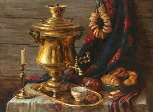 Появление чая на Руси